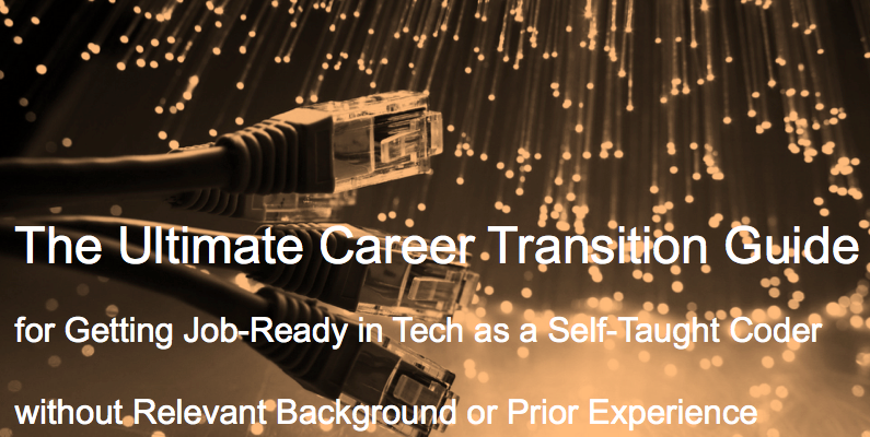 Transition into Tech is Possible